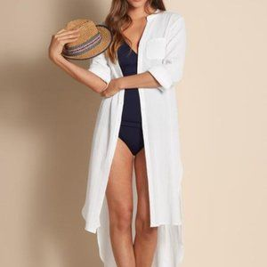 Soft Surroundings Breezy Cover Up #29394 Size M